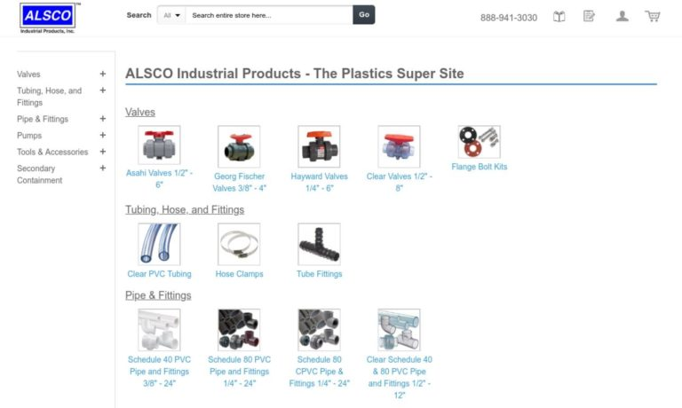 ALSCO™ Industrial Products, Inc.