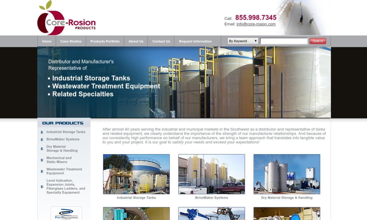 Core-Rosion Products