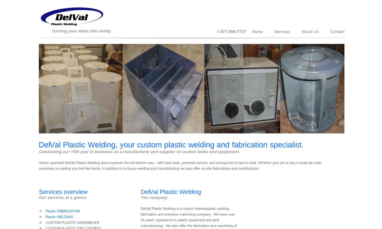 DelVal Plastic Welding
