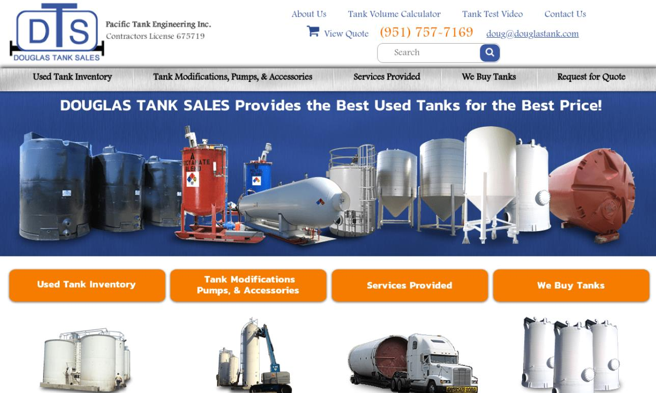 Douglas Tank Sales/ Pacific Tank Engineer