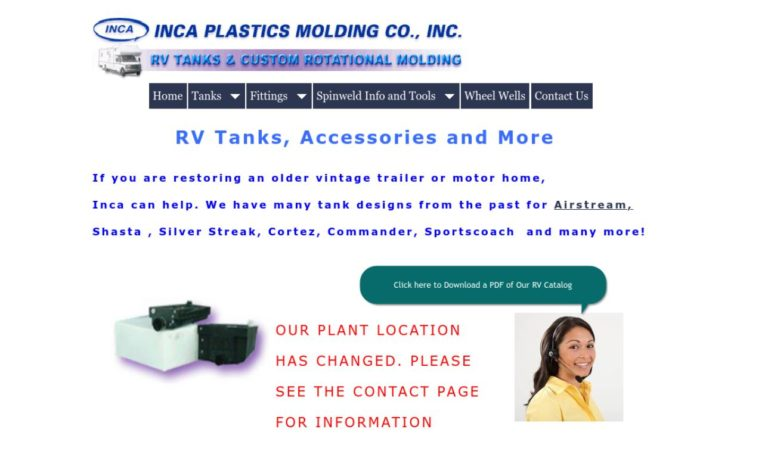 INCA Plastics Molding Co., Inc.