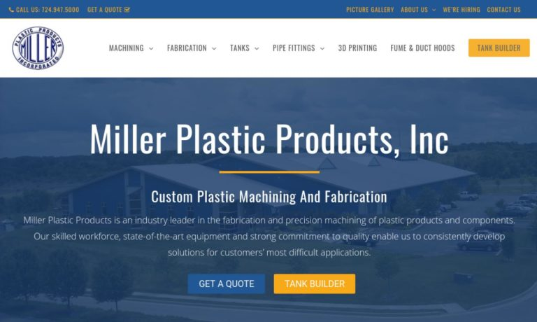Miller Plastic Products, Inc.