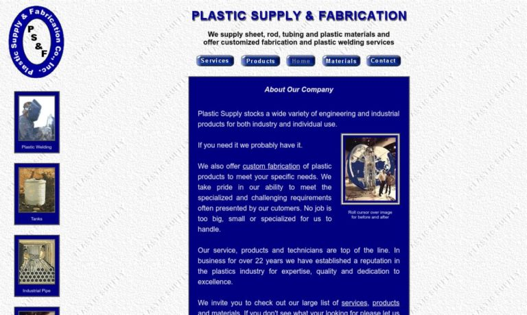 Plastic Supply & Fabrication, Inc.