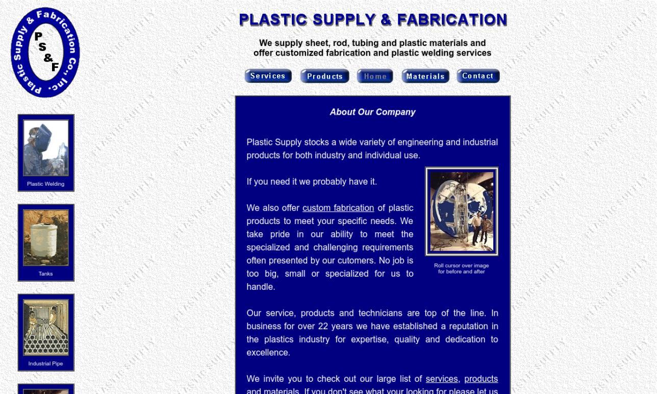 Plastic Supply & Fabrication, Inc.