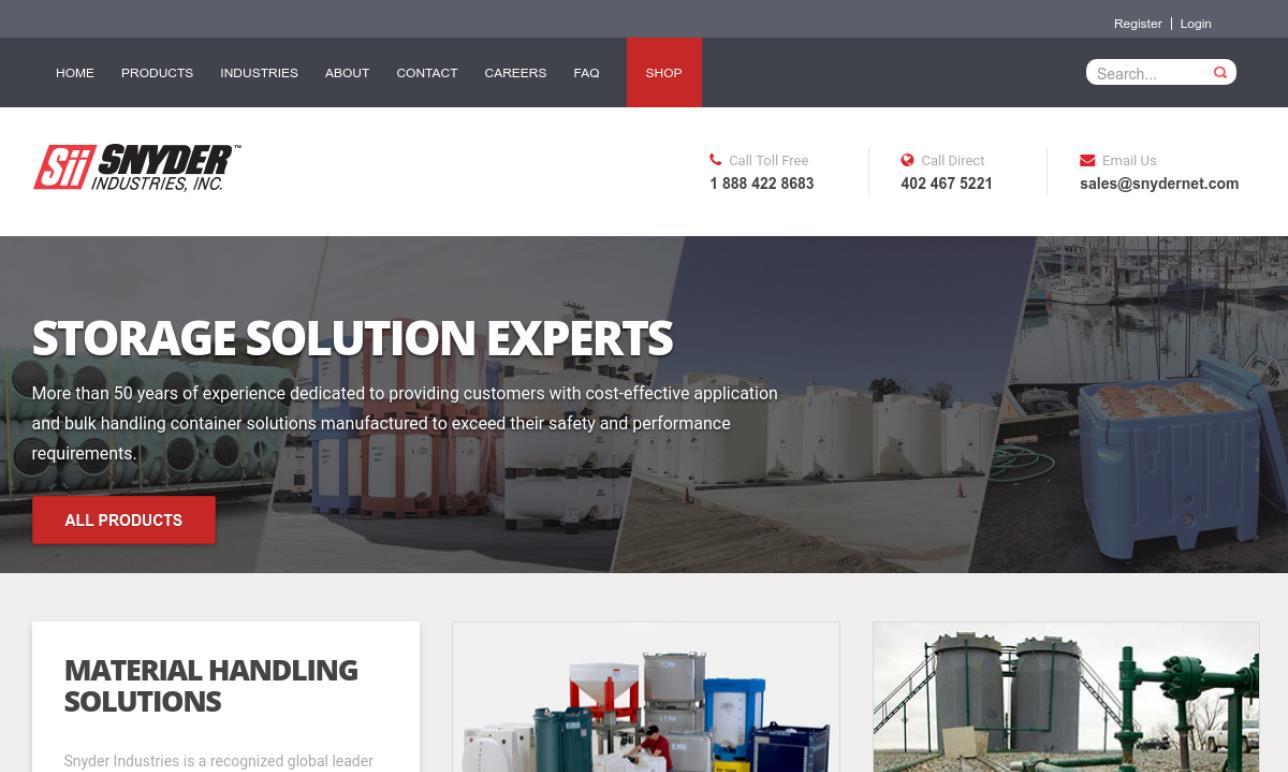 Snyder Industries, Inc.
