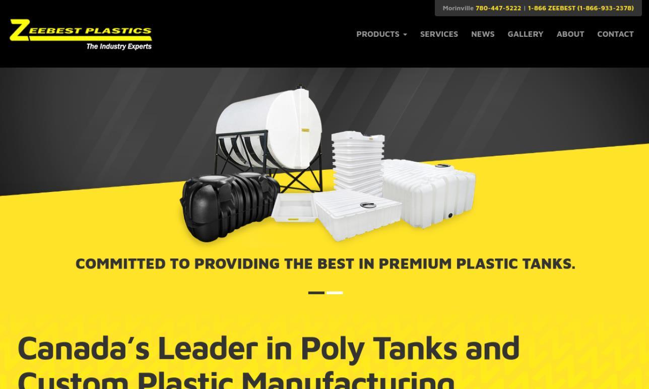 Zeebest Plastics of Canada, Inc.